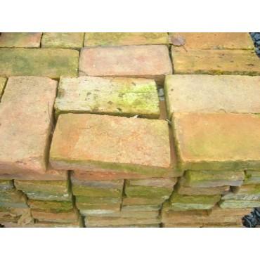 Brique plate terre cuite