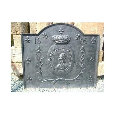 Plaque de chemin e f015 - Plaque de sol cheminee ...