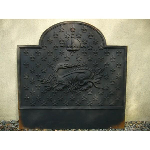 Plaque de chemin e f021 - Plaque de sol cheminee ...