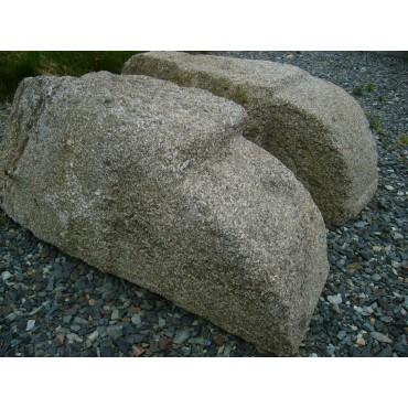 Corbeaux en granit CH013